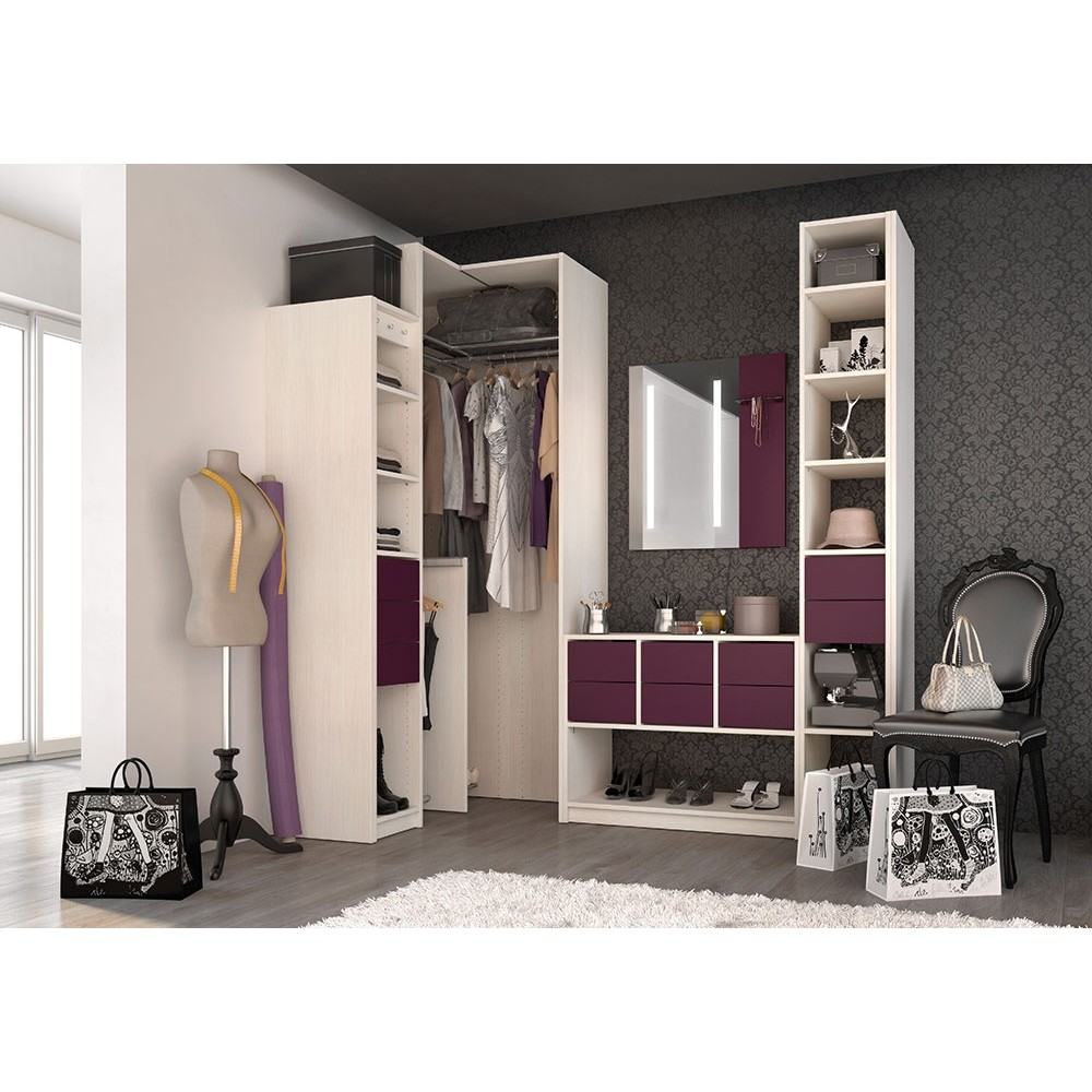 mon premier achat en ligne avec un dressing d angle. Black Bedroom Furniture Sets. Home Design Ideas
