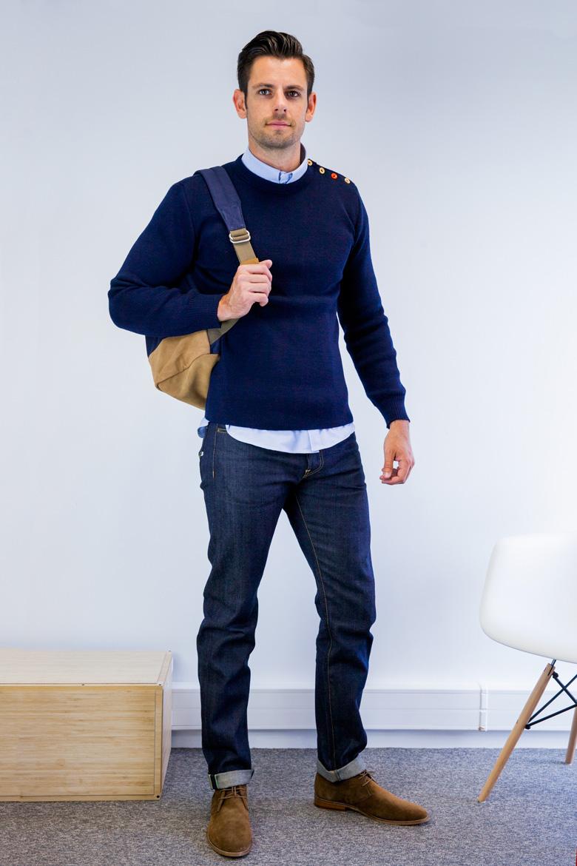 casual chic homme je vous conseille pour ce look tendance. Black Bedroom Furniture Sets. Home Design Ideas